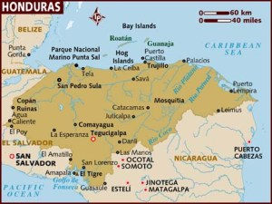 map_of_honduras